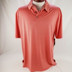 Men's Athletic Golf Polo by Ben Hogan Orange